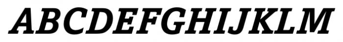 Livingston Bold Italic Font UPPERCASE