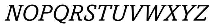 Livingston Italic Font UPPERCASE