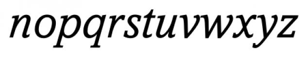 Livingston Italic Font LOWERCASE