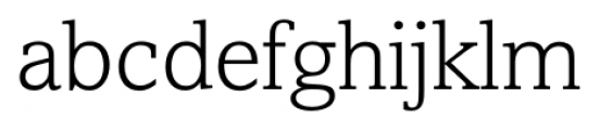 Livingston Light Font LOWERCASE