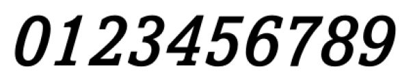 Livingston Medium Italic Font OTHER CHARS