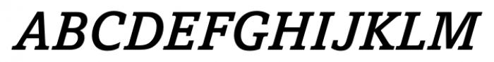 Livingston Medium Italic Font UPPERCASE