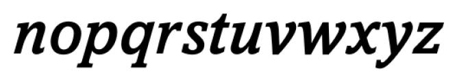 Livingston Medium Italic Font LOWERCASE