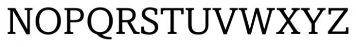 Livingston Regular Font UPPERCASE