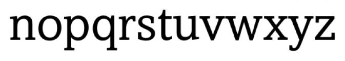 Livingston Regular Font LOWERCASE