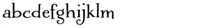 Liam Font LOWERCASE