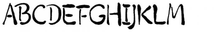 Lianhua Regular Font UPPERCASE