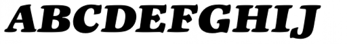 Liberta TA Extrafett Kursiv Font UPPERCASE