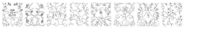 Libertee Ornaments Font OTHER CHARS