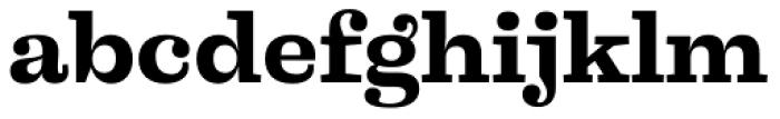 Liberteen Bold Font LOWERCASE