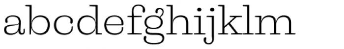 Liberteen Light Font LOWERCASE