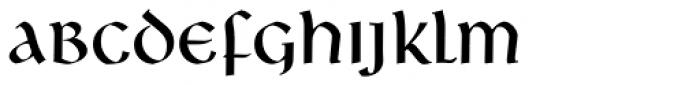 Libra Font LOWERCASE