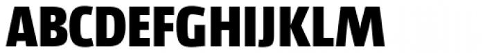 Libre ExtraBold Font UPPERCASE