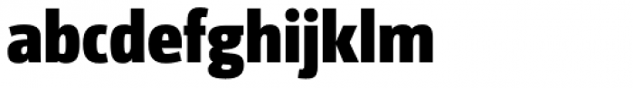 Libre ExtraBold Font LOWERCASE