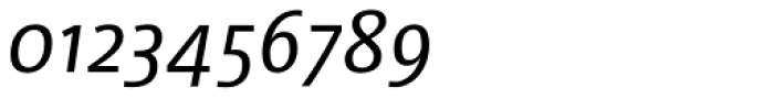 Libre Italic Font OTHER CHARS