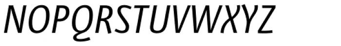 Libre Italic Font UPPERCASE