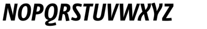 Libre Pro Bold Italic Font UPPERCASE