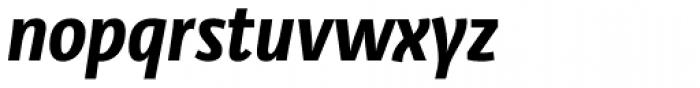 Libre Pro Bold Italic Font LOWERCASE