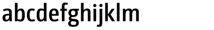 Libre SemiBold Font LOWERCASE