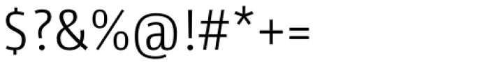 Libre SemiLight Font OTHER CHARS