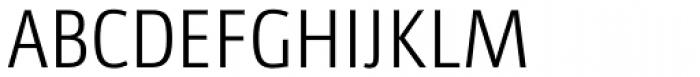 Libre SemiLight Font UPPERCASE