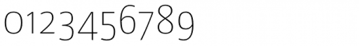 Libre UltraLight Font OTHER CHARS