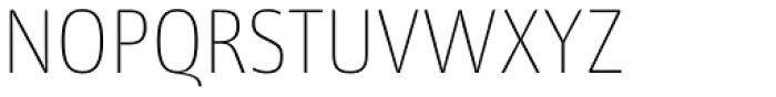 Libre UltraLight Font UPPERCASE