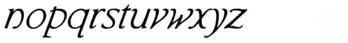 Librum E Italic Font LOWERCASE