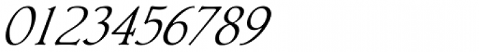 Librum Italic Font OTHER CHARS
