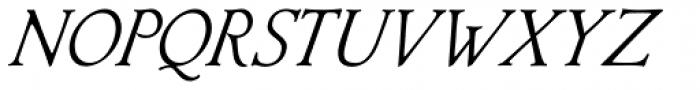 Librum Italic Font UPPERCASE