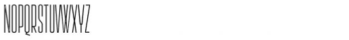 Lichtspielhaus Thin Font LOWERCASE