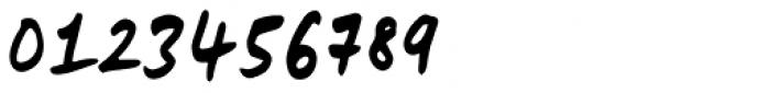 Lid Marker Font OTHER CHARS