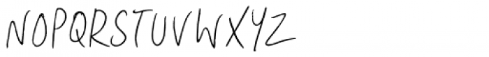 Lid Pen Font UPPERCASE