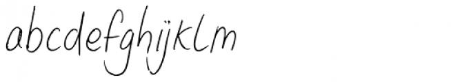 Lid Pen Font LOWERCASE