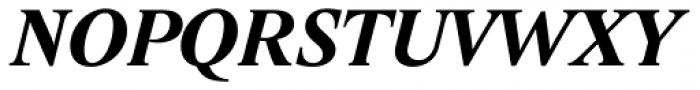 Lido STF Bold Italic Font UPPERCASE