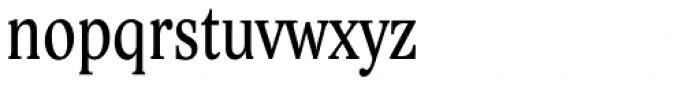 Lido STF Cond Font LOWERCASE