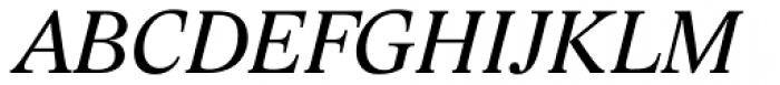 Lido STF Italic Font UPPERCASE