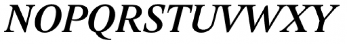 Lido STF Medium Italic Font UPPERCASE