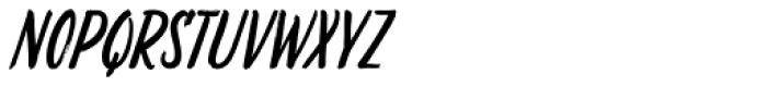 Liebe Doris Italic Font UPPERCASE