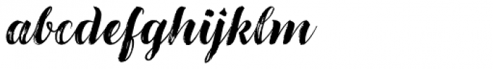 LiebeGerda Bold Italic Font LOWERCASE