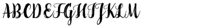 LiebeGerda Bold Font UPPERCASE