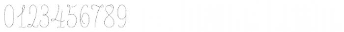 LiebeLotte Thin Font OTHER CHARS