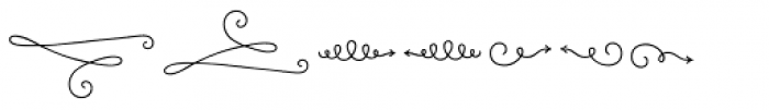 LiebeOrnaments Font UPPERCASE
