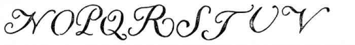 Liesel Printed Regular Font UPPERCASE