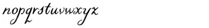 Liesel Printed Regular Font LOWERCASE
