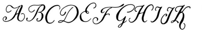 Liesel Regular Font UPPERCASE