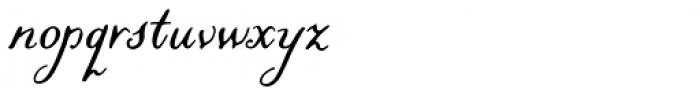 Liesel Regular Font LOWERCASE