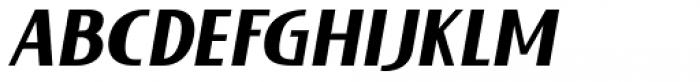Lieur Black Italic Font UPPERCASE