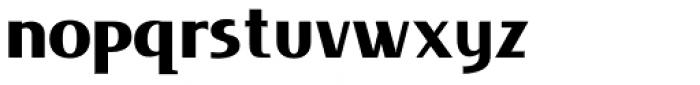 Lieur Black Font LOWERCASE