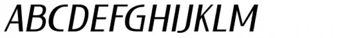 Lieur Medium Italic Font UPPERCASE